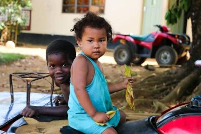 Enfants des communes du fleuve