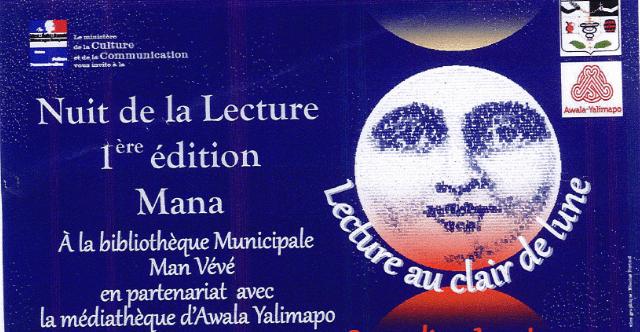 1ère édition Nuit de la Lecture