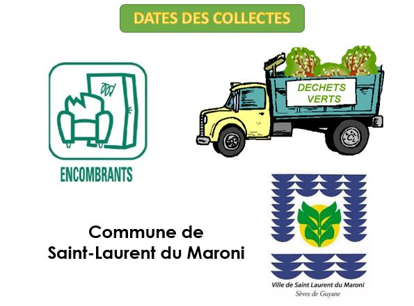 Dates de collecte pour SLM
