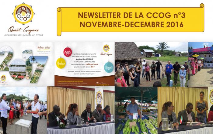 Newsletter 3 Novembre-Décembre 2016