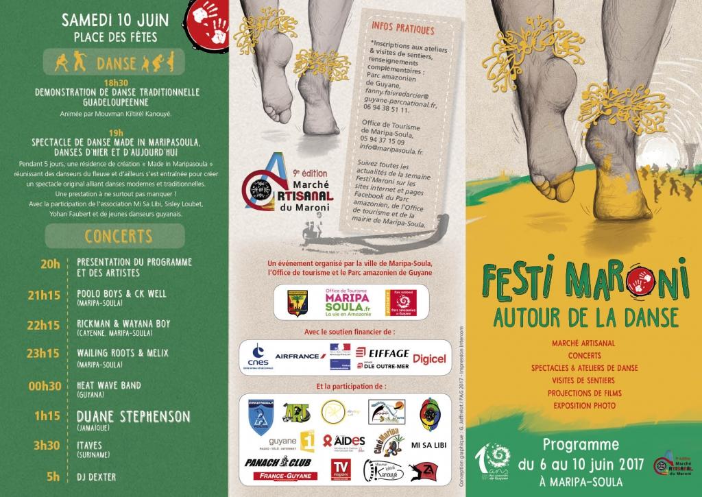 """Maripa-Soula et son """"FESTI MARONI"""""""
