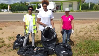 3ème opération Mayouri Tri des déchets