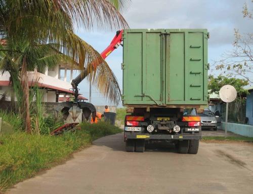 AOÛT: Planning de collectes des encombrants et des déchets verts