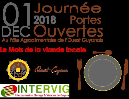Journée Portes Ouvertes au Pôle Agroalimentaire de l'Ouest Guyanais – Le Mois de la viande locale