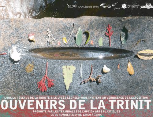 Vernissage de l'exposition « Souvenirs de la Trinité »