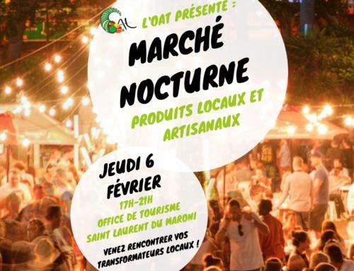 Marché Nocturne à Saint-Laurent du Maroni, jeudi 06 février 2020